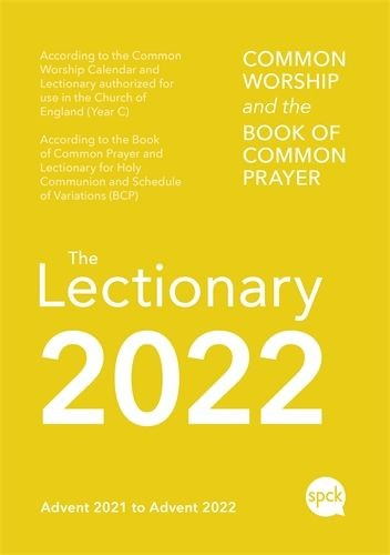 Common Worship Lectionary 2022, Paperback (Paperback)