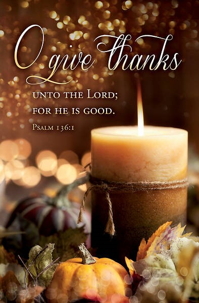 O Give Thanks Thanksgiving Bulletin (pack of 100) (Bulletin)