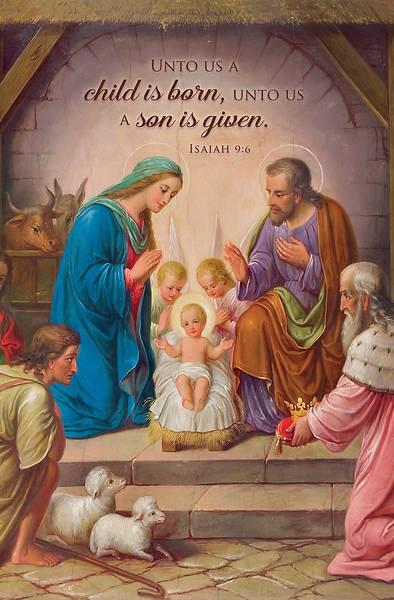 Christ the Savior is Born Bulletin (pack of 100) (Bulletin)
