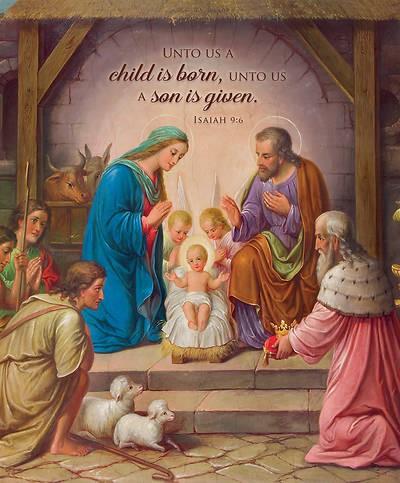 Christ the Savior is Born Large Bulletin (pack of 100) (Bulletin)