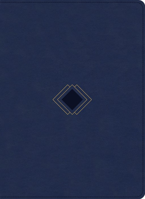CSB Day-by-Day Chronological Bible, Navy LeatherTouch (Imitation Leather)