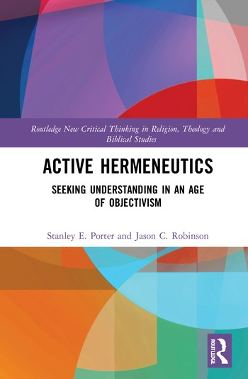 Active Hermeneutics (Hard Cover)