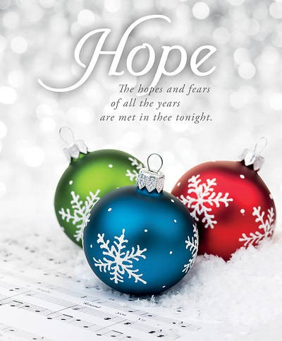 Hopes and Fears Advent Large Bulletin (pack of 100) (Bulletin)