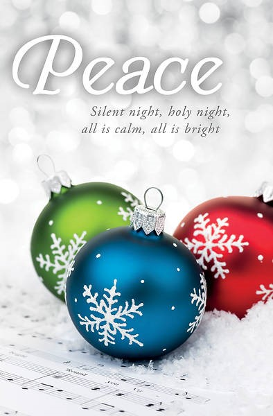 Silent Night Advent Bulletin (pack of 100) (Bulletin)