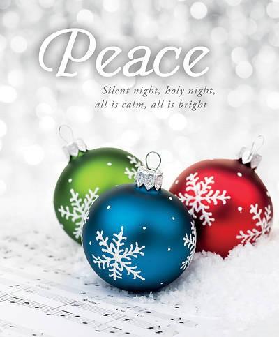 Silent Night Advent Large Bulletin (pack of 100) (Bulletin)