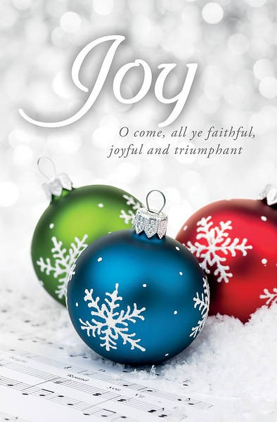 O Come All Ye Faithful Advent Bulletin (pack of 100) (Bulletin)