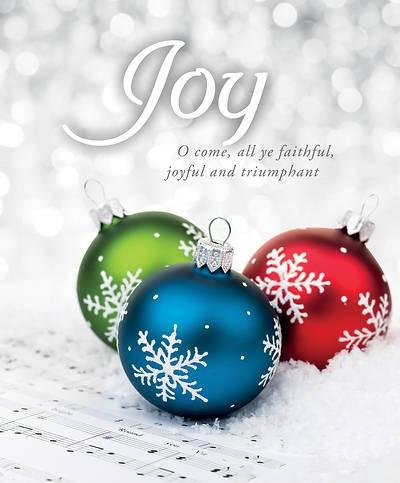 O Come All Ye Faithful Advent Large Bulletin (pack of 100) (Bulletin)