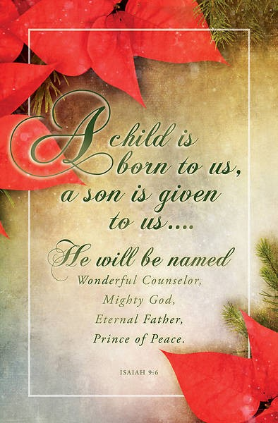 A Child is Born to Us Christmas Bulletin (pack of 100) (Bulletin)