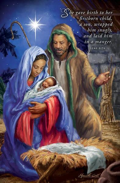 She Gave Birth Christmas Bulletin (pack of 100) (Bulletin)