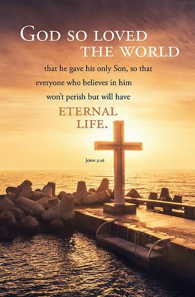 God So Loved the World Bulletin (pack of 100) (Bulletin)