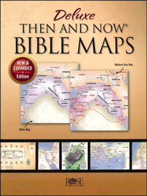 Deluxe Then and Now Bible Maps, Expanded Edition (Paperback)