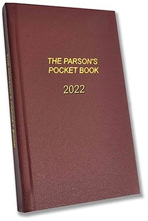 Parson's Pocket Book 2022 (Hard Cover)