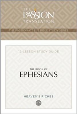 TPT The Book of Ephesians (Paperback)