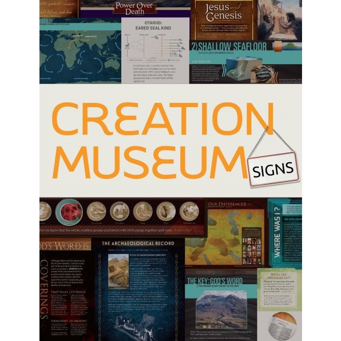 Creation Museum Signs (Paperback)
