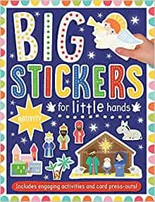 Big Stickers for Little Hands: Nativity (Paperback)