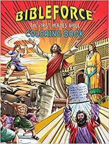 BibleForce Colouring Book (Paperback)