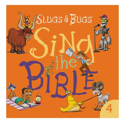 Sing the Bible CD - Volume 4 (CD-Audio)