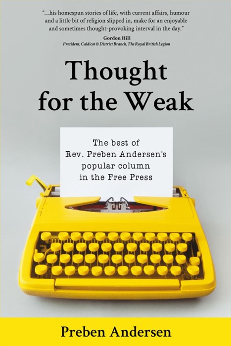 Thought for the Week (Paperback)