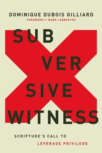 Subversive Witness (Hard Cover)