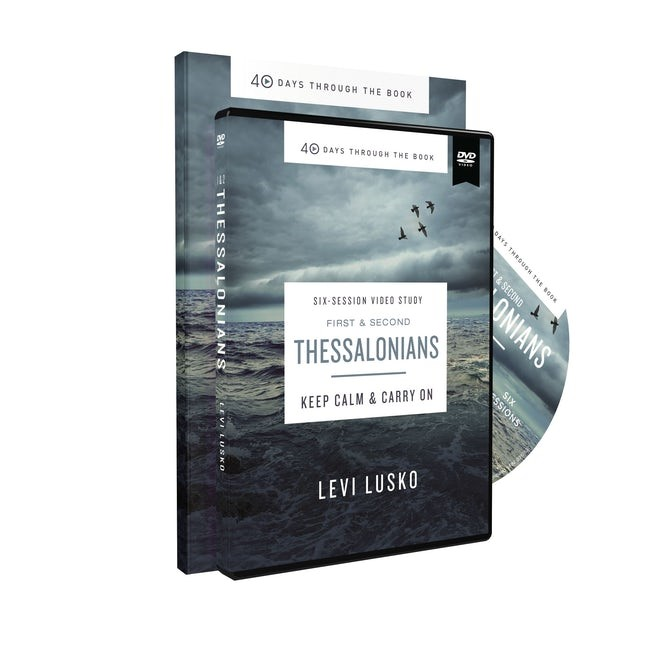 1 and 2 Thessalonians Study Guide with DVD (Paperback w/DVD)