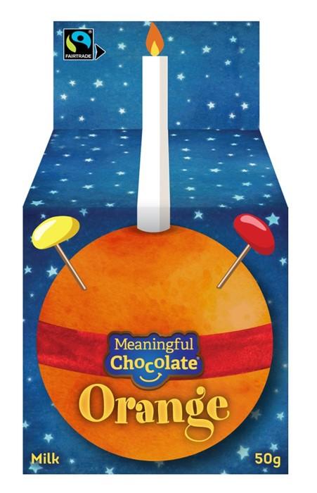 Chocolate Orange Christingle (Single) (General Merchandise)