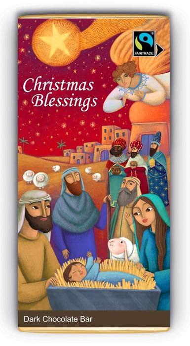 Christmas Blessings Bar (Dark Chocolate) (General Merchandise)