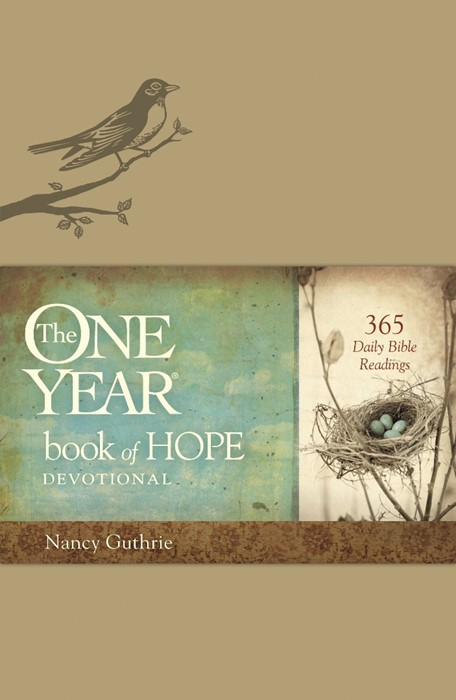 The One Year Book Of Hope Devotional (Imitation Leather)