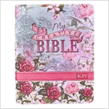KJV My Creative Bible, Floral Faux Leather (Imitation Leather)