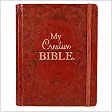KJV My Creative Bible, Brown Faux Leather Hardcover (Hard Cover)