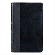 KJV Giant Print Bible, Black, Thumb Indexed (Imitation Leather)