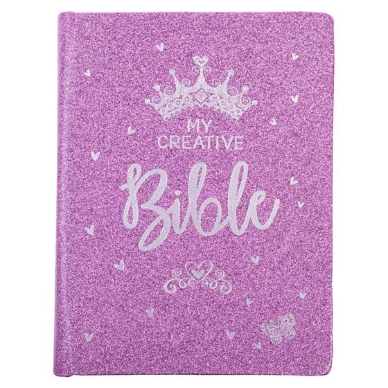 ESV My Creative Bible for Girls, Glitter Hardcover (Hard Cover)