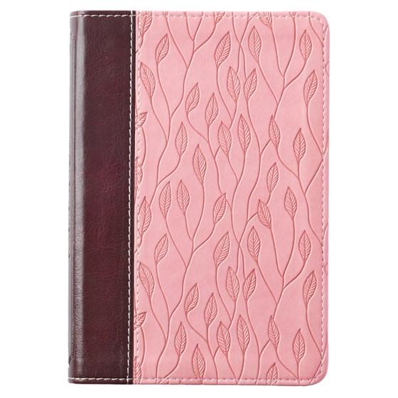 KJV Pocket Bible, Brown/Pink (Imitation Leather)