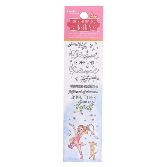 Bible Journalling Inserts (pack of 24) (Bookmark)