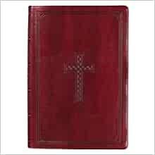 KJV Super Giant Print Bible, Burgundy (Imitation Leather)