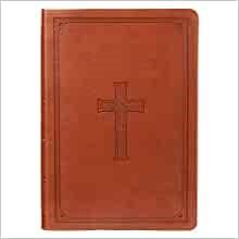 KJV Super Giant Print Bible, Tan (Imitation Leather)