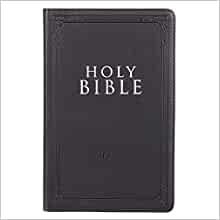 KJV Gift & Award Bible, Black (Paperback)