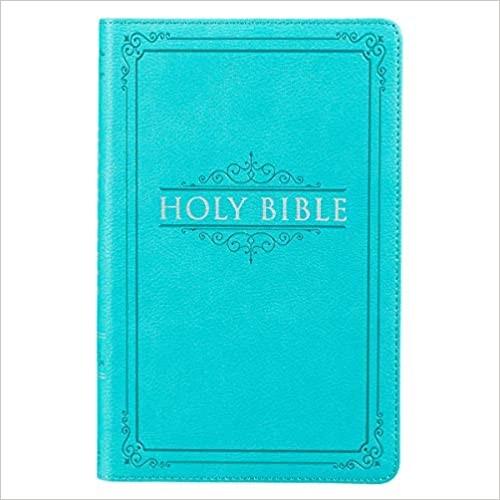 KJV Gift & Award Bible, Turquoise (Imitation Leather)
