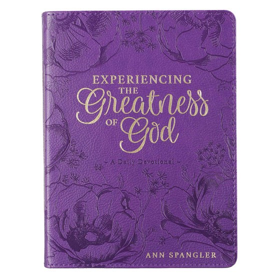Experiencing the Greatness of God (Imitation Leather)