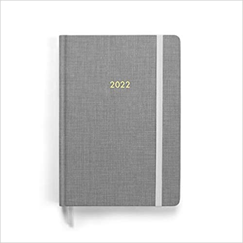 2022 Planner, Grey (Hard Cover)