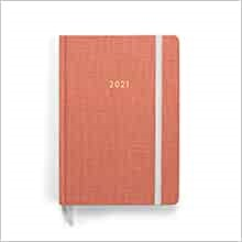 2022 Planner, Pink (Hard Cover)