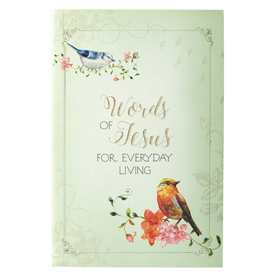 Words of Jesus for Everyday Living (Paperback)