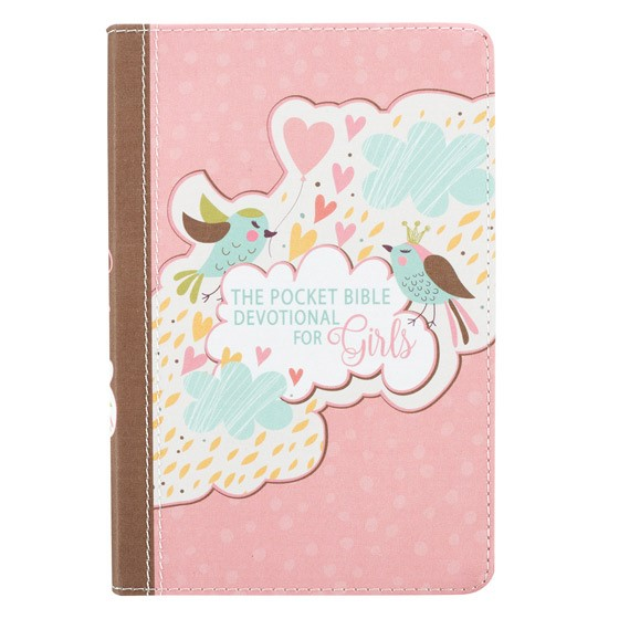 The Pocket Bible Devotional for Girls (Imitation Leather)