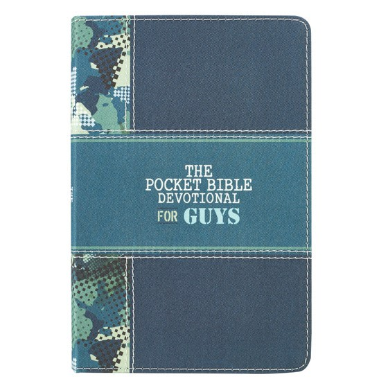 The Pocket Bible Devotional for Guys (Imitation Leather)