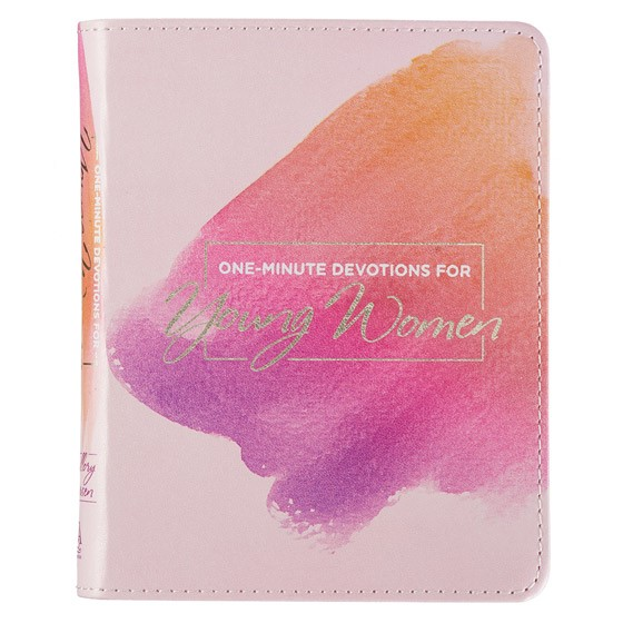 One-Minute Devotions for Young Women (Imitation Leather)