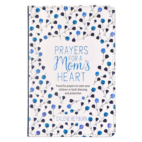 Prayers for a Mom's Heart (Imitation Leather)