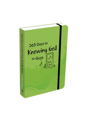365 Days to Knowing God for Guys (Paperback)