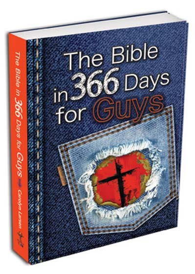 The Bible in 366 Days for Guys (Paperback)