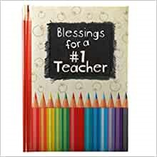 Blessings for a #1 Teacher (Hard Cover)