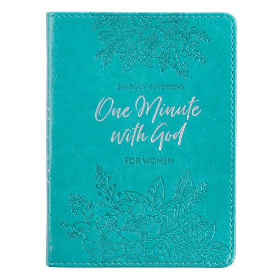 One Minute with God for Women (Imitation Leather)