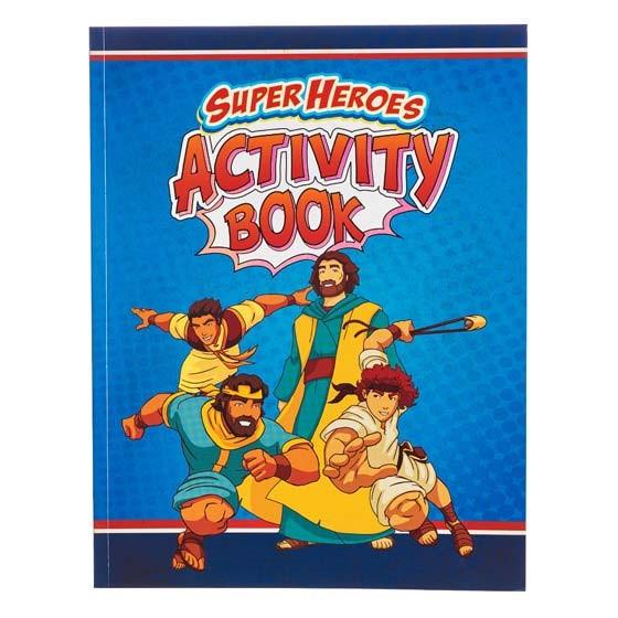 Super Heroes Activity Book (Paperback)